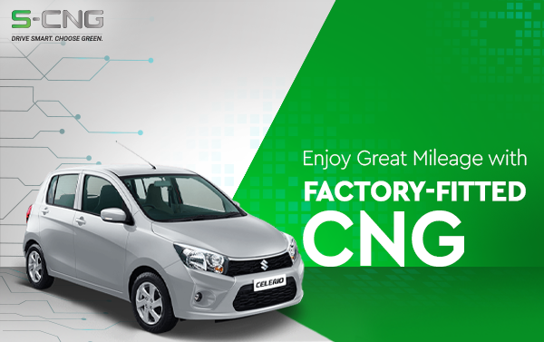 Enjoy Great Mileage With Factory Fitted CNG